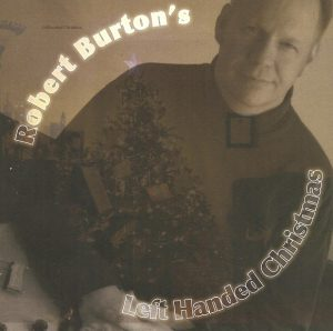 Front cover art for Winnipeg Christmas Album by Robert Burton